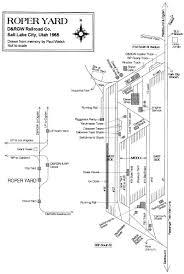 Utah Trax Map by Roper Yard In Salt Lake City