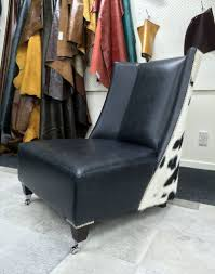 cowhide armchair modern cowhide chair cowhide feature chair