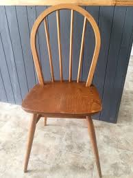 Ercol Dining Chair 4 Vintage Ercol Dining Chairs In Finish In