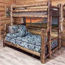 Log Cabin Furniture Pine Log Bedroom Furniture