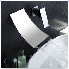 bathroom modern contemporary waterfall faucet for bathroom with