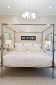 Contemporary Nightstand Ls Modern Canopy Bed White Bedding Ceramic Ls Brass