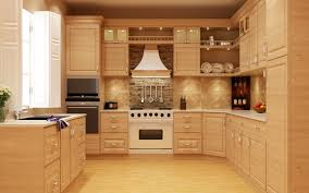 kitchen wood furniture solid wood modular kitchen