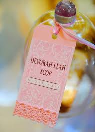 mitzvah favors devorah s bat mitzvah gift favor ideas from evermine