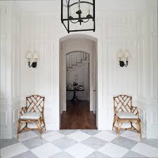 White Marble Floor Tile Grey And White Marble Houzz