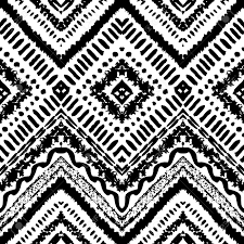 Papier Peint Raye Gris Blanc by Hand Drawn Peint Seamless Pattern Vector Illustration De La