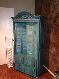 Shutter Armoire 58 Best Painted Furniture Images On Pinterest Painted Furniture