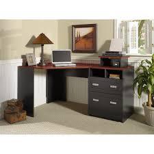 Bush Furniture Vantage Corner Desk Bush Industries Vantage Corner Computer Desk In Harvest Cherry