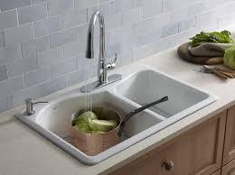 Kohler Kitchen Sinks Kohler  Degree Medium Kitchen Sink New - Stainless steel kitchen sinks canada