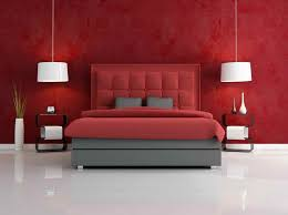 Master Bedroom With Red Color Scheme With New Ideas Red Color - Color combination for bedroom