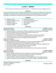 Best Resume Format For Job Examples Of Resumes 89 Fascinating Example Job Resume