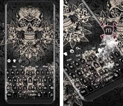 theme black rose black rose skull keyboard apk download latest version 10001004