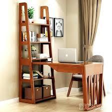 Corner Desk Shelves Desk With Shelves On Top Writing Desk With Storage Hutch Top