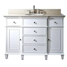48 Vanity With Top Vanities 48 Bathroom Vanity Cabinet White 48 Inch Vanity Lowes