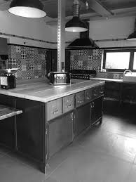 cuisine metal meuble cuisine en metal meuble cuisine separation inspirant