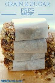 Top 10 Healthiest Granola Bars by Sugar Grain Free Granola Bars Easy Blender Recipe
