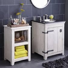Industrial Style Bathroom Vanities by Distressed U0026 Industrial Style Single Sink Vanities Hayneedle