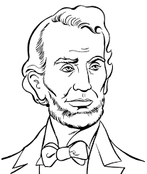 presidents day coloring pages abraham lincoln presidents day