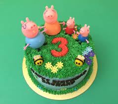 peppa pig cakes singapore you favorite character on cake