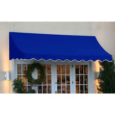 Window Awnings Home Depot Fabric Stationary Awnings Awnings The Home Depot