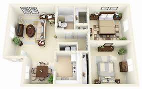 two bedroom house floor plans 50 two 2 bedroom apartment house plans a story house