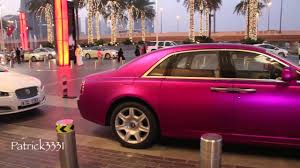 roll royce fenice autopro review matte frosted purple rolls royce ghost at dubai