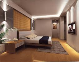 main bedroom design ideas dark grey wallpaint dark brown spotted