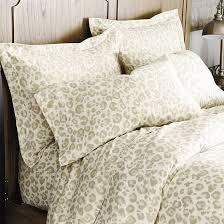 leopard flannel bedding ballard designs