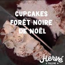 herve cuisine foret hervecuisine les cupcakes de noël forêt pour la