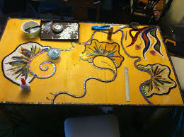 Diy Mosaic Table A Diy Mosaic Kitchen Table That Will Take Your Breath Away