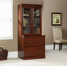Sauder Furniture Bookcase by Sauder Heritage Hill Outlet Classic Cherry 6 Piece Executive