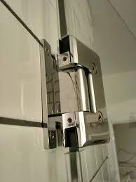 bathroom frameless shower door slipping home improvement stack