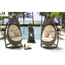 Hanging Swing Chair Outdoor by Rattan Outdoor Indoor Hanging Swing Chair Outdoor