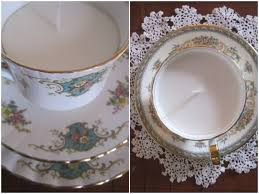 tea cup candles diy tea cup candle tutorial