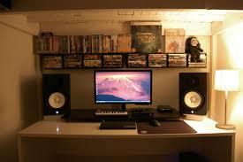 Computer Gaming Room Small Room Black U0026 White Battlestation Battle Stations