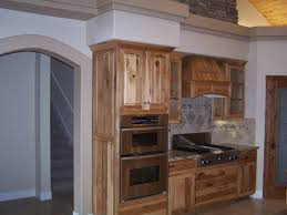 Rustic Hickory Kitchen Cabinets by Hickory Vs Oak Kitchen Cabinets Mpfmpf Com Almirah Beds