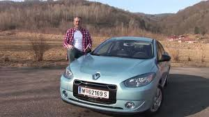 renault fluence ze renault fluence z e weekend magazin autotest youtube