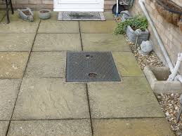 Need A Drain Cover Replacing In Middle Of Patio Groundwork