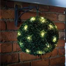 Topiary Balls With Flowers - topiary balls with lights the artificial flowers company