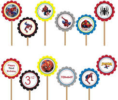 12 photos spider man fiesta birthday party free printables
