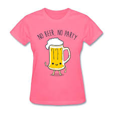 cartoon beer cheers cheers women artwork t shirts with no beer no party t shirt