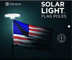 solar led flagpole light led flagpole light deneve solar powered led flagpole light semper fi