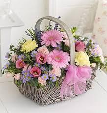 78 best flower baskets images on pinterest flower arrangements