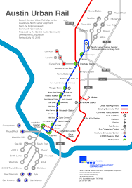 Boston Rail Map by Long Saga Of Guadalupe Lamar Light Rail Planning Told In Maps