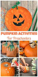 easy pumpkin activities for preschoolers happy home fairy