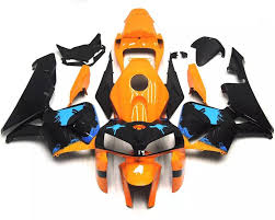 2006 honda cbr 600 price orange black u0026 blue 2005 2006 honda cbr600rr motorcycle fairings