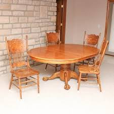 Vintage Oak Dining Chairs Vintage Dining Furniture Auction Antique Dining Furniture For