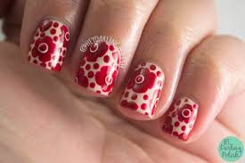 flower dots nail art youtube day five of the seven days of floral