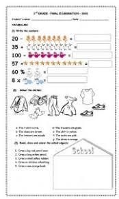english teaching worksheets 2nd grade