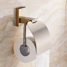 bathroom toilet paper holders golden wall mounted bathroom toilet paper roll holders